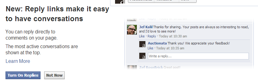 Facebook Commenting Updated